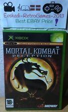 MORTAL KOMBAT DECEPTION PAL ESP. (SIN MANUAL) XBOX