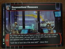 Star Wars TCG TPM Unconventional Maneuvers FOIL 89/90