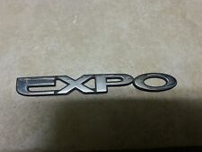"OEM Mitsubishi ""EXPO"" Rear Trunk script Emblem badge decal logo nameplate 6"""