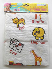 COMPACT BABY TRAVEL CHANGING MAT FOLDABLE PORTABLE SHOPING HOLIDAY NAPPY BAG ZOO
