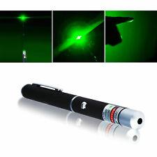 Green Laser Pointer Pen Powerful Beam 5mW Light Lamp High Power (NEW, US Seller)