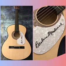 GFA When Country Wasn't Cool BARBARA MANDRELL Signed Acoustic Guitar B2 COA
