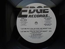 "J. Blackfoot - Let Me Put You Up For The Night / Bad Weather (Soul/R&B, 12"")"
