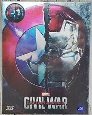 Captain America: Civil War - Steelbook Weet Full Slip Blu-ray NEU/OVP