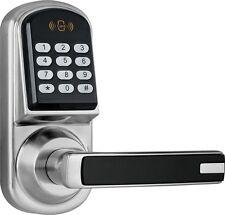 Digital keyless electronic code door lock card key fob entry handle LOB new.