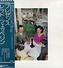 "LED ZEPPELIN ""PRESENCE"" ORIG JAPAN 1976"