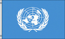 United Nations Flag 3 x 5 ' Country Flag - New 3X5 Indoor Outdoor Country Flag