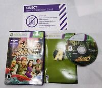 Kinect Adventures (Xbox 360, 2010) Complete Senor Calibration Card FREE Shipping