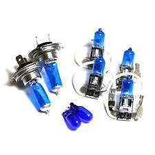 Seat Arosa 6H H3 H7 H3 501 55w Super White Xenon High/Low/Fog/Side Light Bulbs