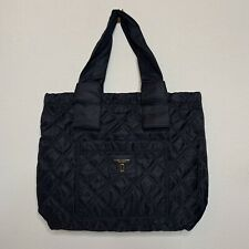 Marc Jacobs Quilted Nylon Tote HandBag Purse Lightweight Black NWT