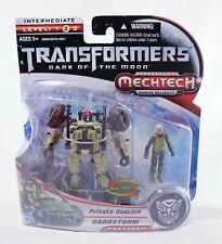 Transformers Dark Of The Moon Mechtech - Private Dedcliff/Sandstorm