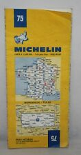 France - Michelin 1:200,000 Map - Bordeaux, Tulle - Sheet 75 - 1975