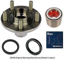 Front Wheel Hub & KOYO (OEM) Bearing & Seals Kit For 2000-04 SUBARU LEGACY