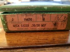 Rcbs reloading equipment .30/30 Wcf Neck Sizer Part#14630. Used Little.