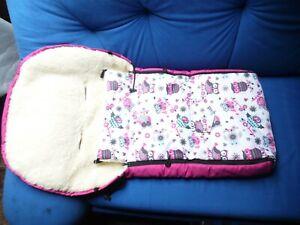 Schlafsack für Kinderwagen Baby Füßsack Winter Warm