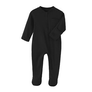 Infant Baby Long Sleeve Romper Cotton Bodysuit Footed Jumpsuit Casual Daily Wear