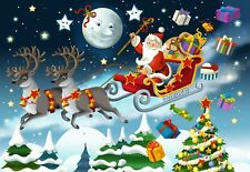 Wentworth Christmas Puzzle Mini Santa Claus Illustration 40 Piece Xmas Jigsaw