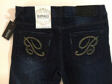 Buffalo David Bitton Jade Skinny Boot Cut Jeans Girls Size 14 NWT