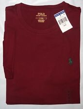 Mens Ralph Lauren Polo S/s T-shirt Wine LRG