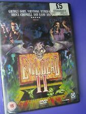 Evil Dead II {DVD} Director Sam Raimi - New & Sealed - FREEPOST