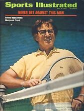 1973 Bobby Riggs Tennis No Label Sports Illustrated