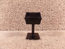 Fisher Price Dollhouse Miniature Outdoor Furniture Toy Grill Made In Hong Kong