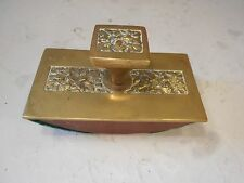 Vintage Brass  Desktop Ink Blotter  ref 2076
