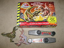 Vintage JURASSIC PARK III 3 Electronic SPINO vs T-REX Toy Dinosaur Battle Game