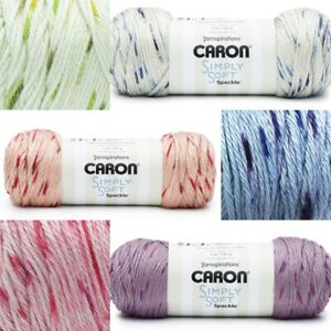 [BUY 10 GET 25% OFF] Caron Simply Soft Speckle 141g Yarn