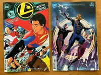 LEGION OF SUPER HEROES 1 Main Cover + Cheung Card Stock Variant DC 2019 NM+