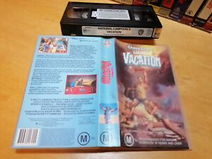NATIONAL LAMPOONS VACATION Chevy Chase 1983 - Oz Warner Home Video Vhs - COMEDY
