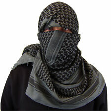 Shemagh Military, Arab, Army, SAS, Keffiyeh Desert Scarf 100% Woven Cotton Wrap