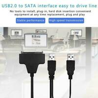 USB To Sata External HDD SSD Hard Disk Dirive Adapter Lead Converter Cable C0S7