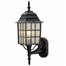 Hardware House Oil Rubbed Bronze Patio/Porch Outdoor Light Fixture, #19-1555