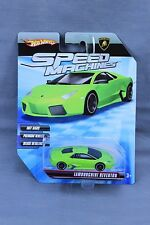 HOT WHEELS SPEED MACHINES LAMBORGHINI REVENTON LIME GREEN NEW ON CARD