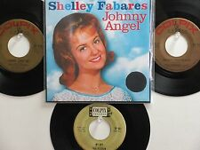 LOT OF 4 SHELLEY FABARES/PAUL PETERSEN HIT 45's+1P(Copy)[Johnny Angel] THE 60's!