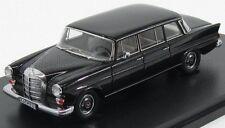 wonderful modelcar MERCEDES 200L (W115) LWB BINZ 1965 - black - scale 1/43