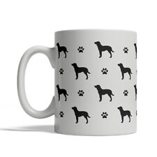 American Water Spaniel Dog Silhouettes Coffee Mug, Tea Cup 11 oz Ceramic