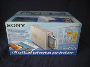 NEW Sony DPP-EX5 Digital Photo Thermal Printer W/ Dye-Sublimation Technology NIB
