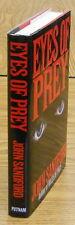 """John Sandford.  EYES OF PREY.  Putnam, 1991. 1st HC/DJ. 3rd """"Prey"""" Novel. Scarce"""