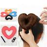Summer Hair Donut Bun Heart Maker Magic Foam Sponge Princess Hairstyle Hairbands