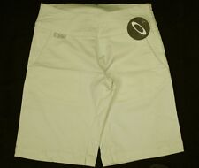 "Bnwt Women's Authentic Oakley Agenda Stretch Shorts W28"" Size 10 Yellow"