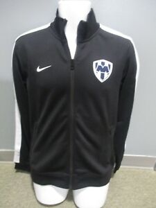 Club monterrey rayados 100% nike athentic jacket black