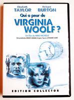 Qui a peur de Virginia Woolf - BURTON / TAYLOR - dvd très bon état