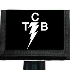 TCB elvis BLACK TRIFOLD NYLON WALLET Great Gift Idea
