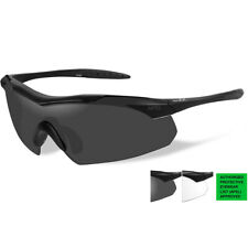 Wiley X WX CHANGEABLES Vapor Matte Black Sunglasses CH3501 100 Authentic