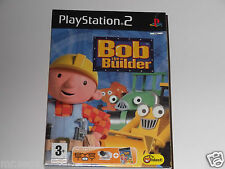 BOB THE BUILDER with EYE TOY for PLAYSTATION 2 'VERY RARE & HARD TO FIND' NEW