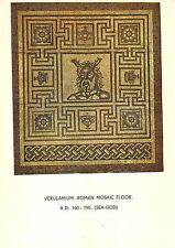 BR76093 roman mosaic floor  verulamium    postcard   uk