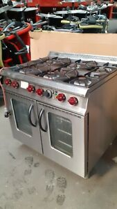 Moorwood Vulcan Commercial Cooker Convection Oven; Burners Work Oven Has A Fault