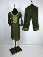 Summer Special Deal Elegant Kurta with Palazzo Set Embroidery work Size 38 M